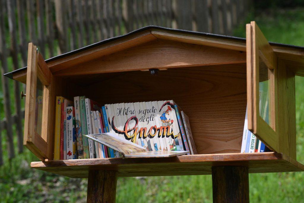 Piccola libreria del bosco